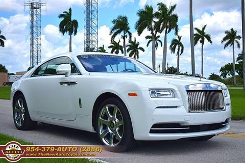 2014 Rolls-Royce Wraith for sale at The New Auto Toy Store in Fort Lauderdale FL