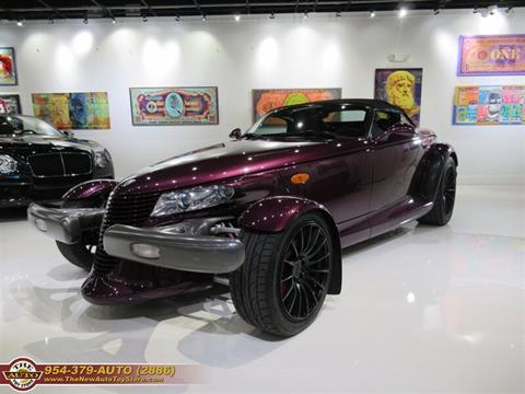 1999 Plymouth Prowler for sale at The New Auto Toy Store in Fort Lauderdale FL