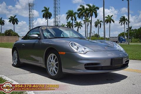2003 Porsche 911 for sale at The New Auto Toy Store in Fort Lauderdale FL