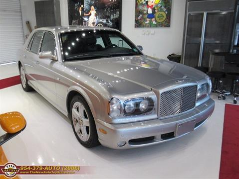 2004 Bentley Arnage for sale at The New Auto Toy Store in Fort Lauderdale FL