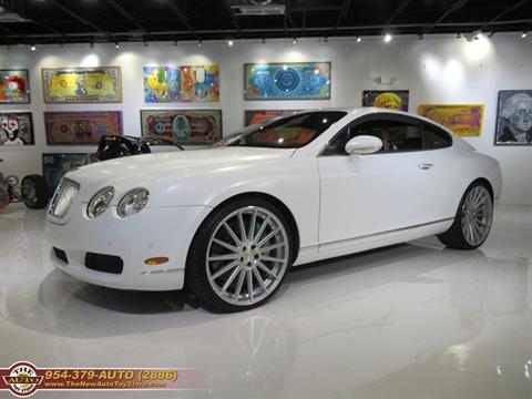 2005 Bentley Continental for sale at The New Auto Toy Store in Fort Lauderdale FL