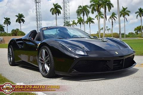 2017 Ferrari 488 Spider for sale at The New Auto Toy Store in Fort Lauderdale FL