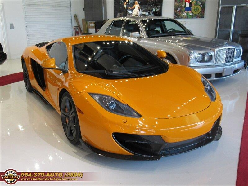 2012 McLaren MP4-12C for sale at The New Auto Toy Store in Fort Lauderdale FL