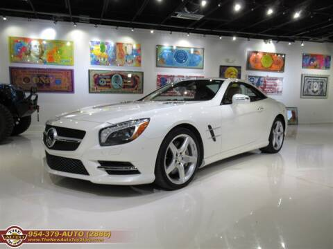 2013 Mercedes-Benz SL-Class for sale at The New Auto Toy Store in Fort Lauderdale FL