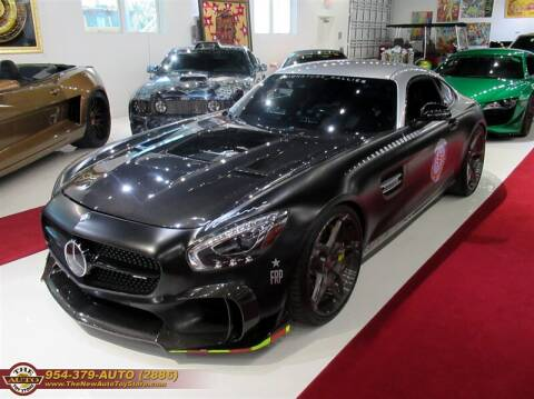 2017 Mercedes-Benz AMG GT for sale at The New Auto Toy Store in Fort Lauderdale FL
