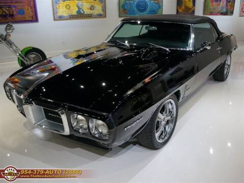 1969 Pontiac Firebird for sale at The New Auto Toy Store in Fort Lauderdale FL