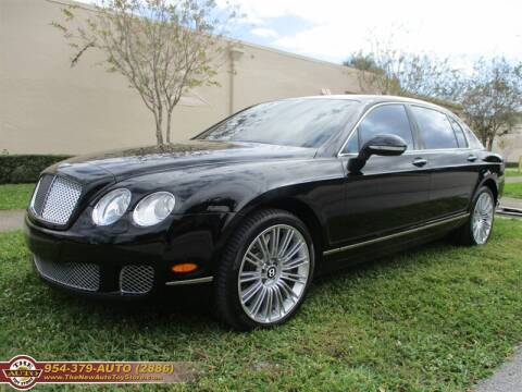 2011 Bentley Continental for sale at The New Auto Toy Store in Fort Lauderdale FL