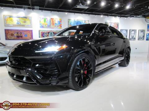 2019 Lamborghini Urus for sale at The New Auto Toy Store in Fort Lauderdale FL