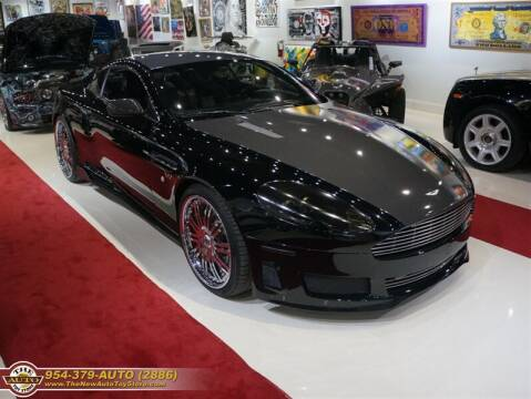 2007 Aston Martin DB9 for sale at The New Auto Toy Store in Fort Lauderdale FL