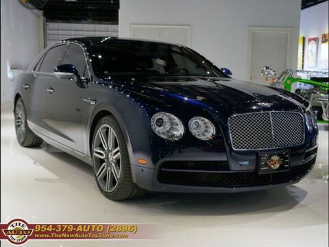 2016 Bentley Flying Spur for sale at The New Auto Toy Store in Fort Lauderdale FL