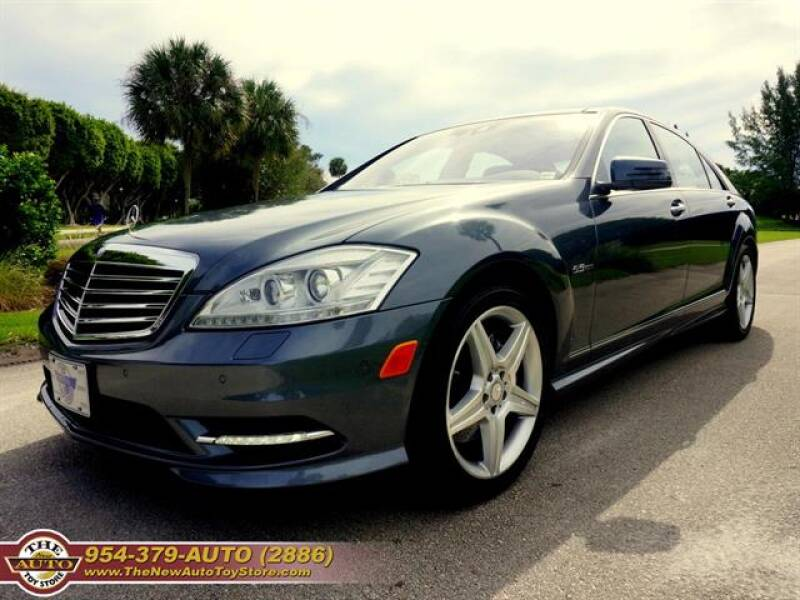 2010 Mercedes-Benz S-Class for sale at The New Auto Toy Store in Fort Lauderdale FL