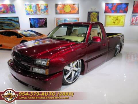 2005 Chevrolet Silverado 1500 for sale at The New Auto Toy Store in Fort Lauderdale FL