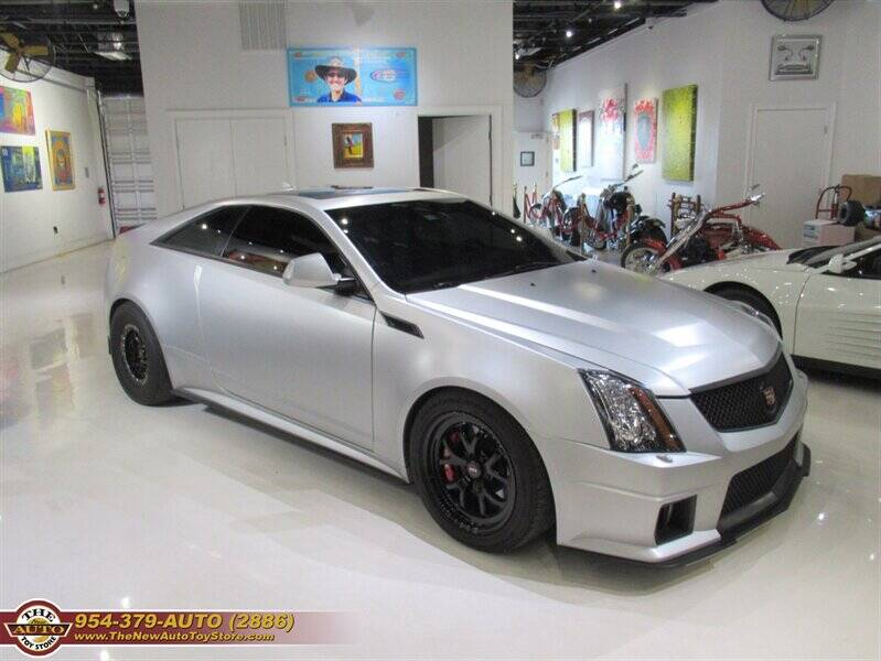 2013 Cadillac CTS-V for sale at The New Auto Toy Store in Fort Lauderdale FL