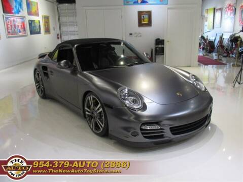 2012 Porsche 911 for sale at The New Auto Toy Store in Fort Lauderdale FL