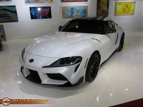 2020 Toyota GR Supra for sale at The New Auto Toy Store in Fort Lauderdale FL