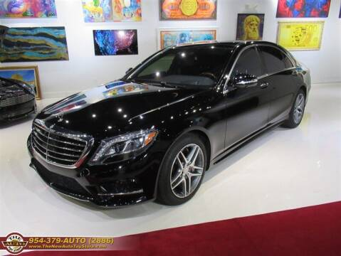 2017 Mercedes-Benz S-Class for sale at The New Auto Toy Store in Fort Lauderdale FL