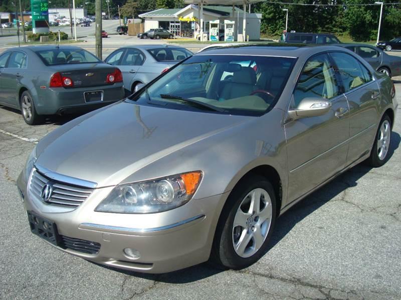 2007 acura rl sh awd 4dr sedan in greensboro nc uniworld auto rh uniworldautosales com 2006 Acura RL Accessories 2006 Acura RL Accessories
