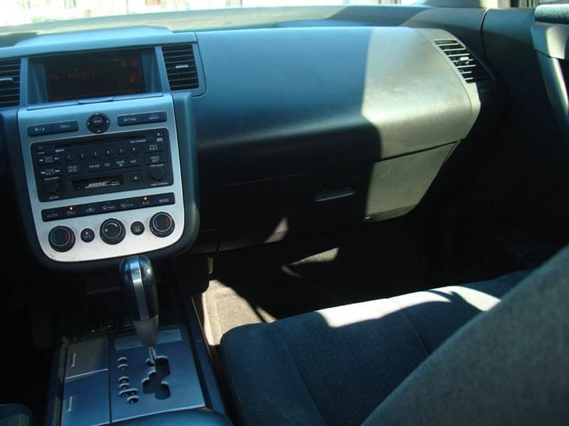 2004 nissan murano radio not working   Blown Fuse Check 2003