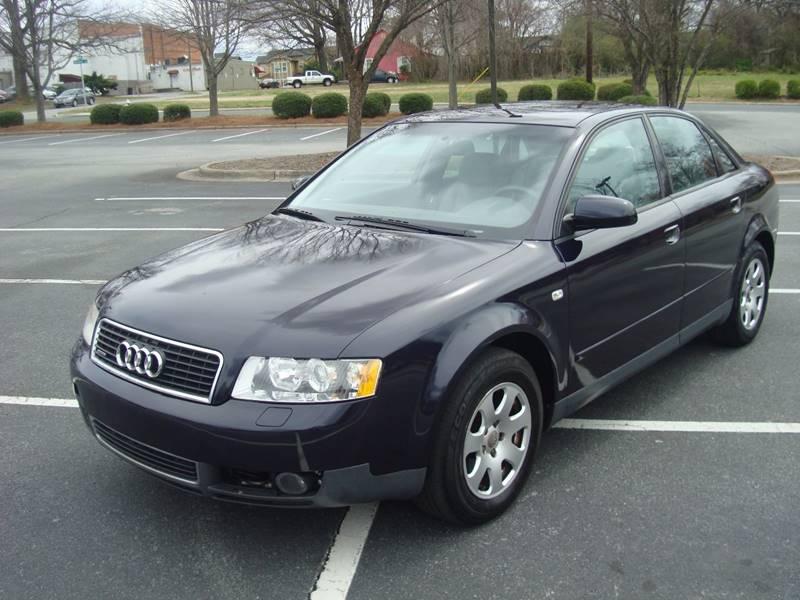 Audi A AWD T Quattro Dr Sedan In Greensboro NC Uniworld - 2002 audi quattro