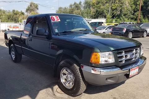 2003 Ford Ranger for sale at VISTA AUTO SALES in Longmont CO