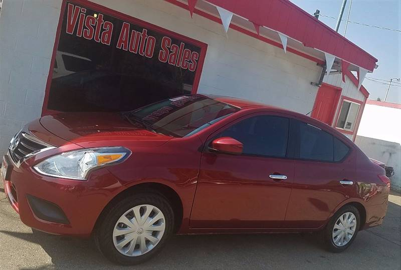 2017 Nissan Versa for sale at VISTA AUTO SALES in Longmont CO