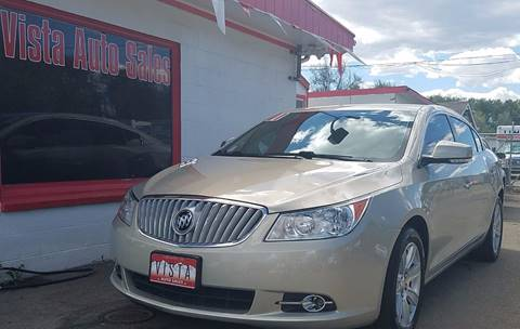 2011 Buick LaCrosse for sale at VISTA AUTO SALES in Longmont CO