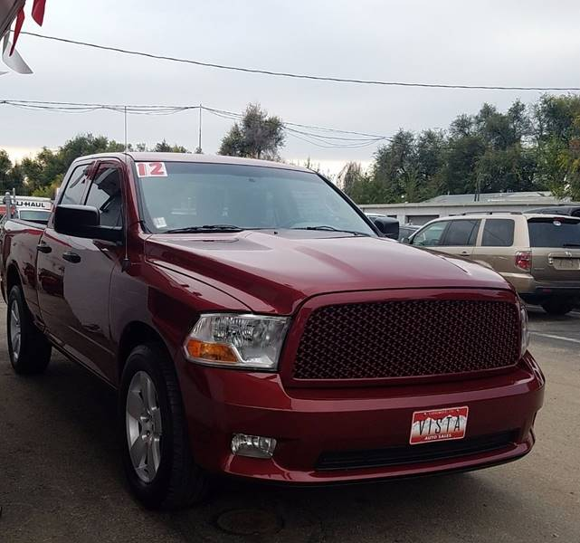 2012 RAM Ram Pickup 1500 for sale at VISTA AUTO SALES in Longmont CO
