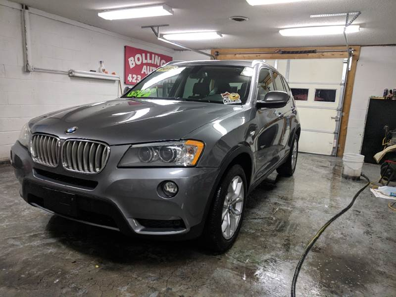 2013 BMW X3 for sale at BOLLING'S AUTO in Bristol TN