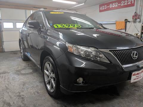 2010 Lexus RX 350 for sale at BOLLING'S AUTO in Bristol TN