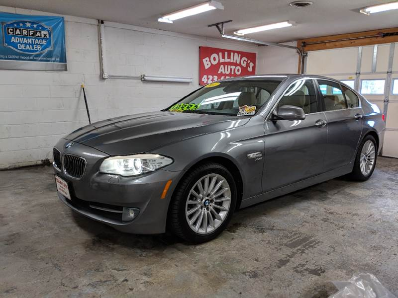 2011 BMW 5 Series for sale at BOLLING'S AUTO in Bristol TN