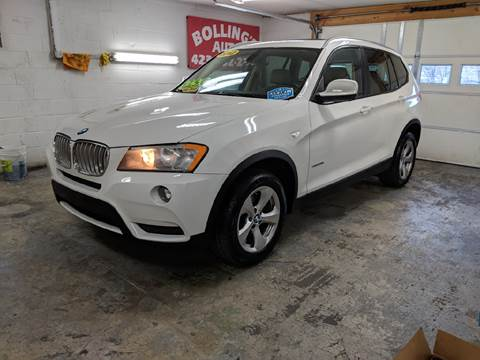 2012 BMW X3 for sale at BOLLING'S AUTO in Bristol TN