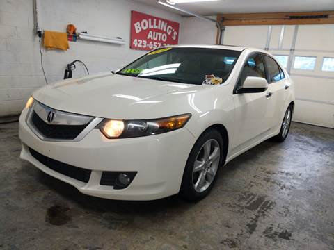 2010 Acura TSX for sale at BOLLING'S AUTO in Bristol TN