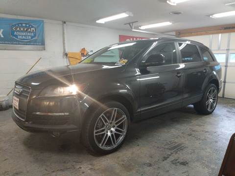2007 Audi Q7 for sale at BOLLING'S AUTO in Bristol TN
