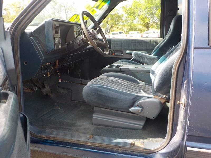 1994 Chevrolet C/K 1500 Series 2dr K1500 Silverado 4WD Extended Cab Stepside SB - Council Bluffs IA