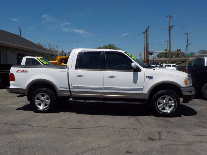 2002 Ford F-150 4dr SuperCrew Lariat 4WD Styleside SB - Council Bluffs IA