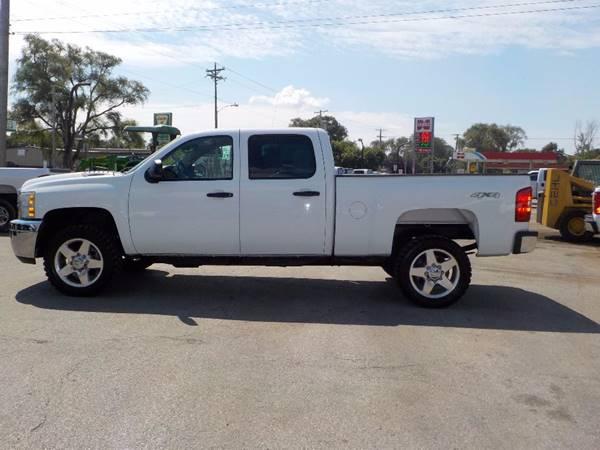 2011 Chevrolet Silverado 2500HD 4x4 Work Truck 4dr Crew Cab SB - Council Bluffs IA