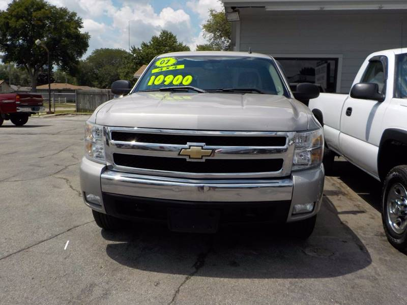 2007 Chevrolet Silverado 1500 LT1 4dr Extended Cab 4WD 6.5 ft. SB - Council Bluffs IA