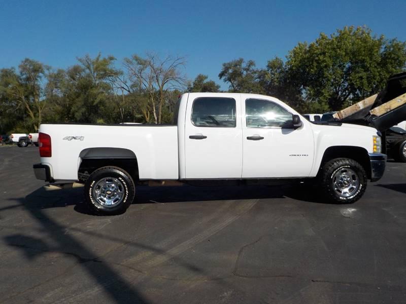 2012 Chevrolet Silverado 2500HD 4x4 Work Truck 4dr Crew Cab SB   Council  Bluffs IA
