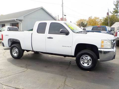 2008 chevrolet silverado 2500hd 4wd work truck 4dr extended cab sb in council bluffs ia. Black Bedroom Furniture Sets. Home Design Ideas