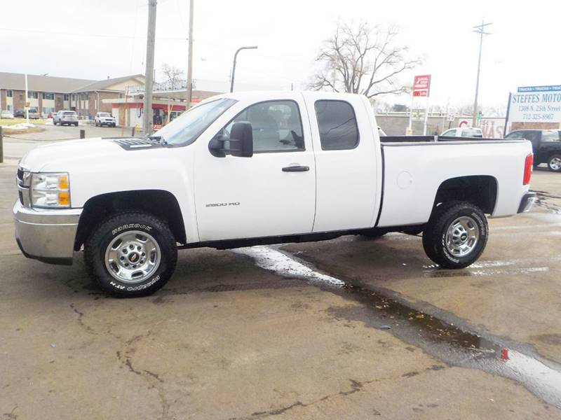 2011 chevrolet silverado 2500hd 4x4 work truck 4dr extended cab sb in council bluffs ia. Black Bedroom Furniture Sets. Home Design Ideas