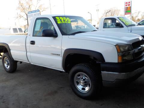 2004 Chevrolet Silverado 2500HD Work Truck for sale at Steffes Motors in Council Bluffs IA