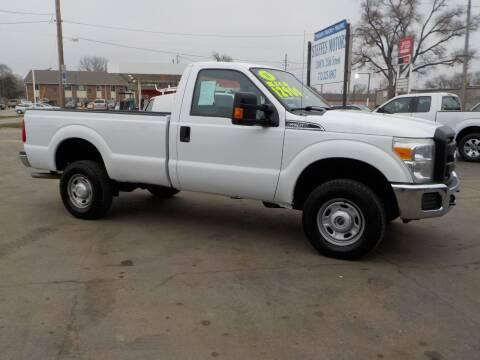 2011 Ford F-250 Super Duty XL for sale at Steffes Motors in Council Bluffs IA