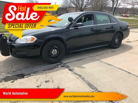 2014 Chevrolet Impala Limited Police for sale in Euclid, OH