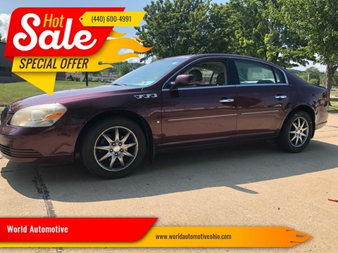 2007 Buick Lucerne for sale in Euclid, OH