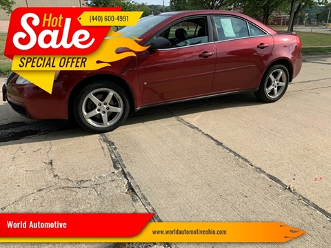 2008 Pontiac G6 for sale in Euclid, OH