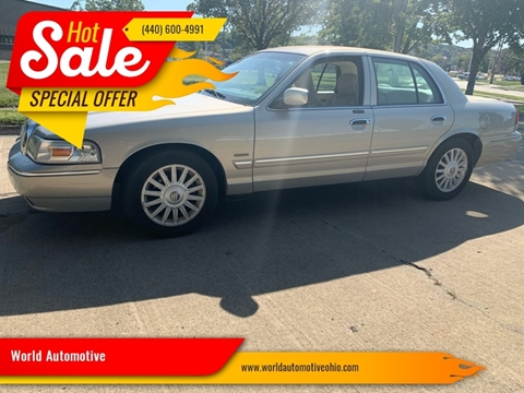 2010 Mercury Grand Marquis for sale in Euclid, OH
