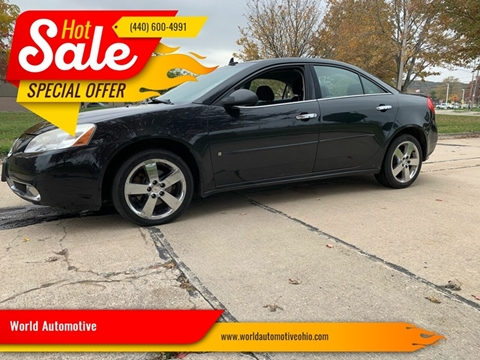 2009 Pontiac G6 for sale in Euclid, OH