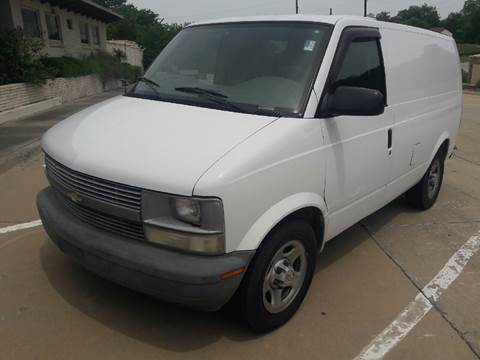 2004 Chevrolet Astro Cargo for sale in Dallas, TX