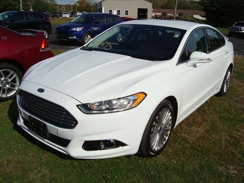 2016 Ford Fusion for sale in Millerton, NY