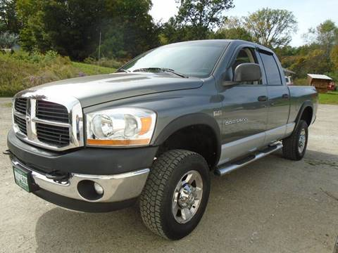 2006 Dodge Ram Pickup 2500 for sale in Leicester, VT